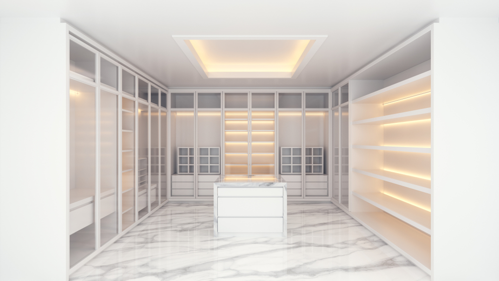 Why You Should Add Natural Stone to Your Walk-in Closet
