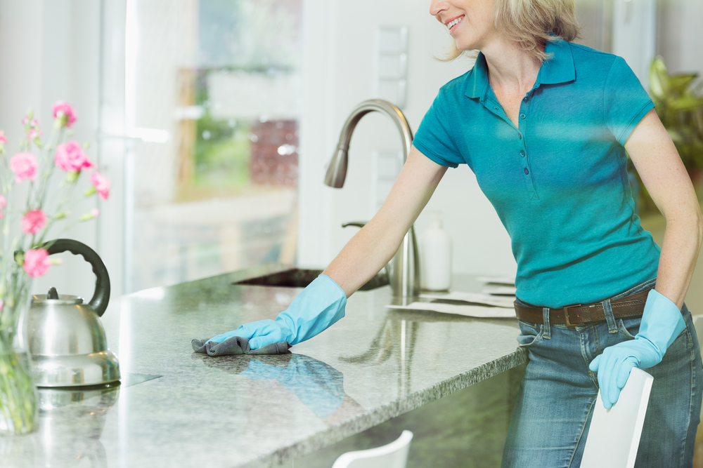 Make Your Countertops Shine Without Using Harsh Chemicals